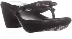 Callisto Of California Lassye Slip On Sandals, Black.