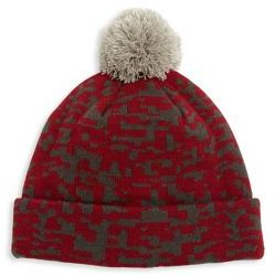 Saks Fifth Avenue COLLECTION Geo Print Beanie