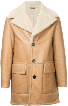Jil Sander panelled coat