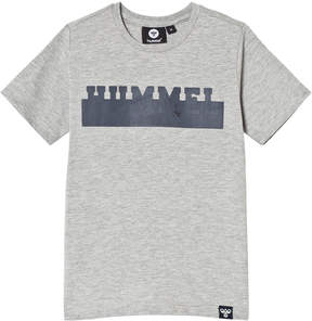 Hummel Grey Landon T-Shirt