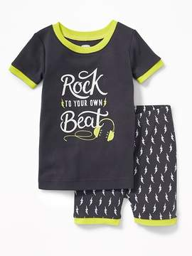 Old Navy Rock to Your Own Beat Sleep Set for Toddler & Baby
