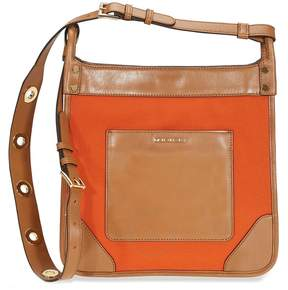 Michael Kors Sullivan Large Canvas Messenger Bag - Tangerine - ONE COLOR - STYLE