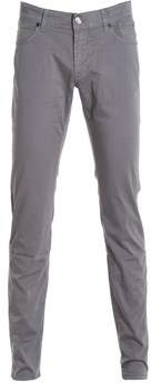 Jeckerson Men's Grey Cotton Pants.