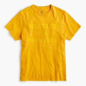 J.Crew Mustard is the only choice graphic T-shirt