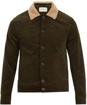 Oliver Spencer Buffalo contrast-collar cotton-corduroy jacket