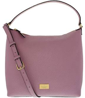 Kate Spade Women's Prospect Place Kaia Hobo Bag Leather Top-Handle Tote - Lilac Petal - LILAC PETAL - STYLE