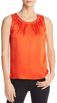 BOSS Ivanica Shirred Sleeveless Top