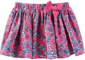 Osh Kosh Oshkosh Bgosh Girls 4-8 Pleated Floral Skirt