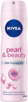 Nivea Pearl Beauty Deodorant Spray by 150ml)