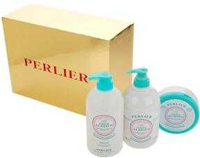 Perlier White Almond 3-piece Kit with Gift Box