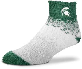 For Bare Feet Women's Michigan State Spartans Marquee Sleep Socks