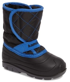 Kamik Toddler Boy's Pika2 Faux Fur Insulated Waterproof Snow Boot