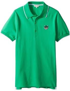 Kenzo Polo Tiger Logo Boy's Clothing