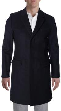 Marc by Marc Jacobs Mens Wool Notch Collar Trench Coat
