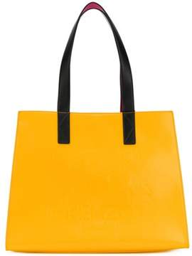 Kenzo Women's Yellow Polyurethane Tote.