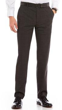 Murano Alex Modern Slim-Fit Flat-Front Glenn Plaid Pants