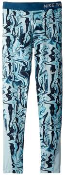 Nike Pro Print Tight Girl's Casual Pants