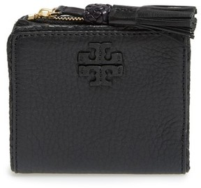 Tory Burch Women's Mini Leather Wallet - Black - BLACK - STYLE