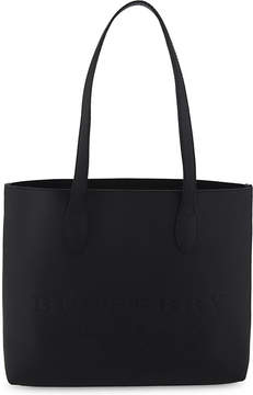 Burberry Medium leather tote - BLACK - STYLE