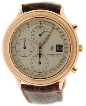 Audemars Piguet Huitieme 25644 Chronograph 18K Rose Gold 40mm Mens Watch