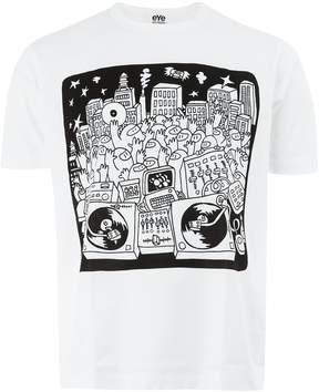 Junya Watanabe cartoon print T-shirt