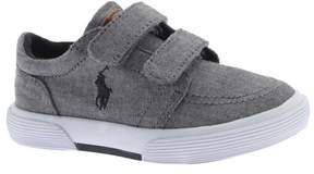 Polo Ralph Lauren Unisex Infant Faxon II EZ Chambray Sneaker - Toddler