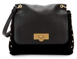 Donna Karan Medium Bay Leather Satchel