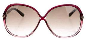 Tom Ford Round Oversize Sunglasses