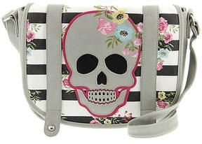 Loungefly Skull and Stripes Crossbody Bag