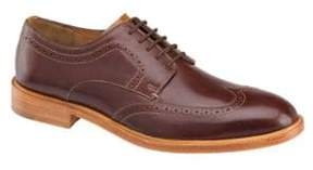 Johnston & Murphy Campbell Wingtip-Toe Leather Oxfords