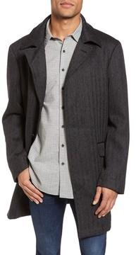 Rodd & Gunn Men's 'Garlands' Herringbone Wool Tweed Overcoat