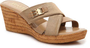 Italian Shoemakers Women's Sunbeam Wedge Sandal