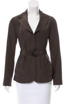 Armani Collezioni Lightweight Belted Jacket w/ Tags