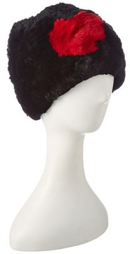 Jocelyn Black Knitted Hat.