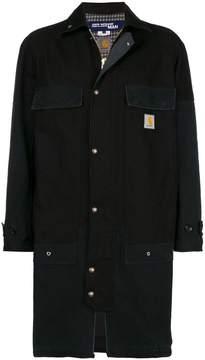 Junya Watanabe MAN x Carhartt patchwork coat