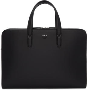 Fendi Black Leather Briefcase