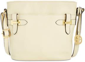 Giani Bernini Leather Bucket Crossbody, Created for Macy's