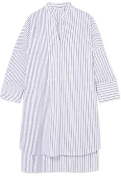 Jil Sander Striped Cotton Tunic - White