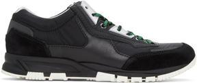 Lanvin Black Running Sneakers
