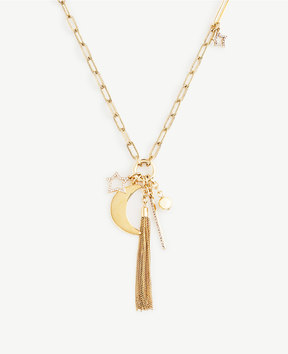 Ann Taylor Stellar Charm Necklace