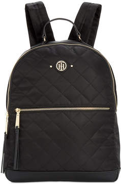 Tommy Hilfiger Quilted Stars Nylon Dome Backpack