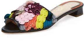 Jerome C. Rousseau Women's Delair Beaded Slip-On Sandal