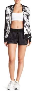 Blanc Noir Venice Silk Blend Shorts