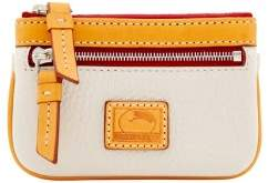 Dooney & Bourke Patterson Leather Small Coin Case - BONE - STYLE