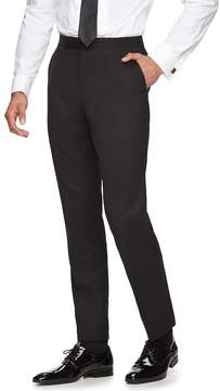 Marc Anthony Men's Slim-Fit Flat-Front Wool Tuxedo Pants