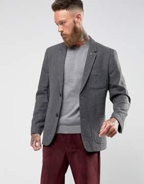 Farah Lake Plain Wool Blazer