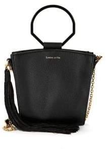 Louise et Cie Joni Ring-Handle Leather Crossbody