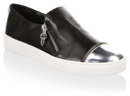 Michael Kors Grayson Slip-On Leather Sneakers
