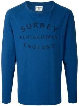 Kent & Curwen printed T-shirt