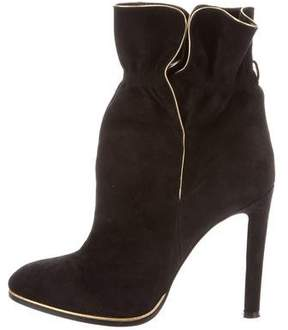 Etro Pointed-Toe Suede Boots